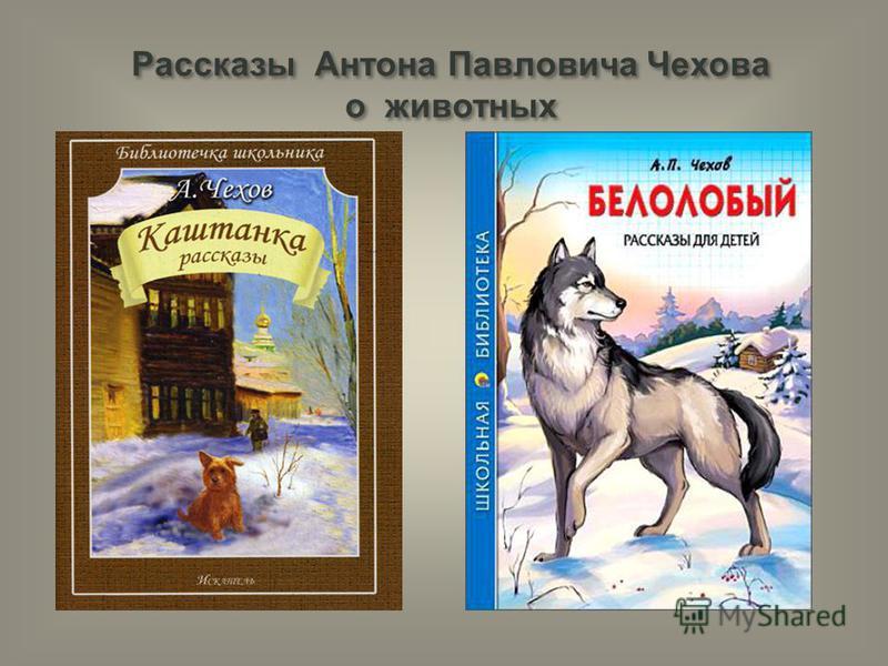 Рассказы Антона Павловича Чехова о животных