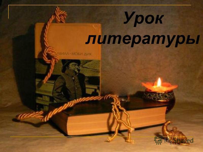 Урок литературы