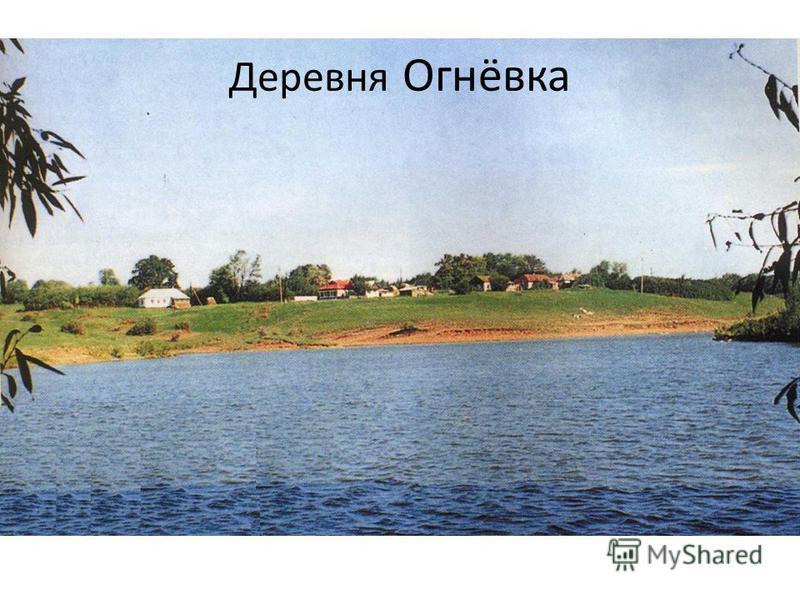 Деревня Огнёвка