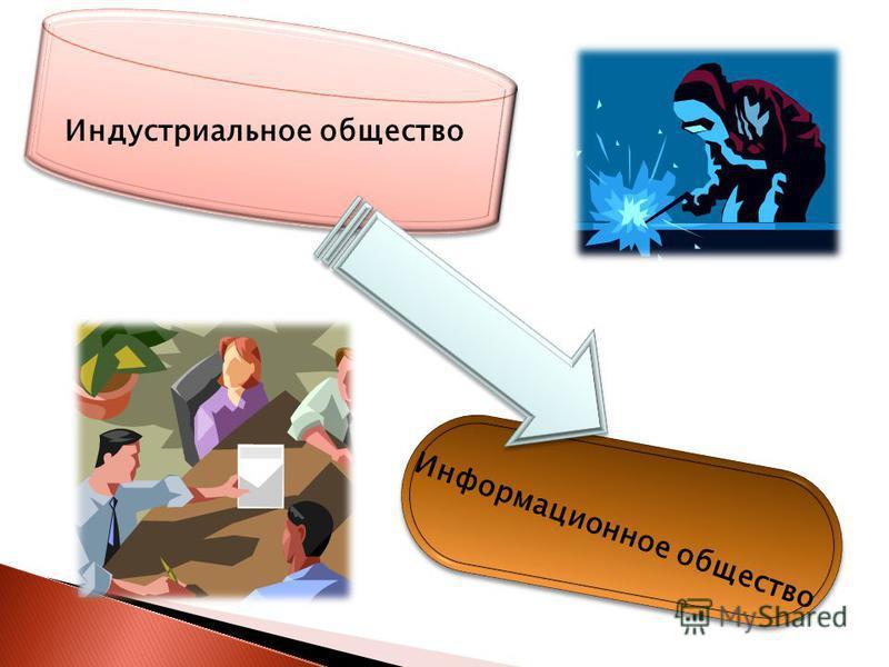 Индустриальное общество Информационное общество