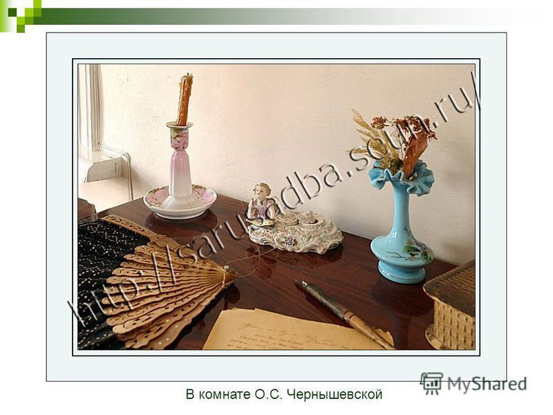 В комнате О.С. Чернышевской