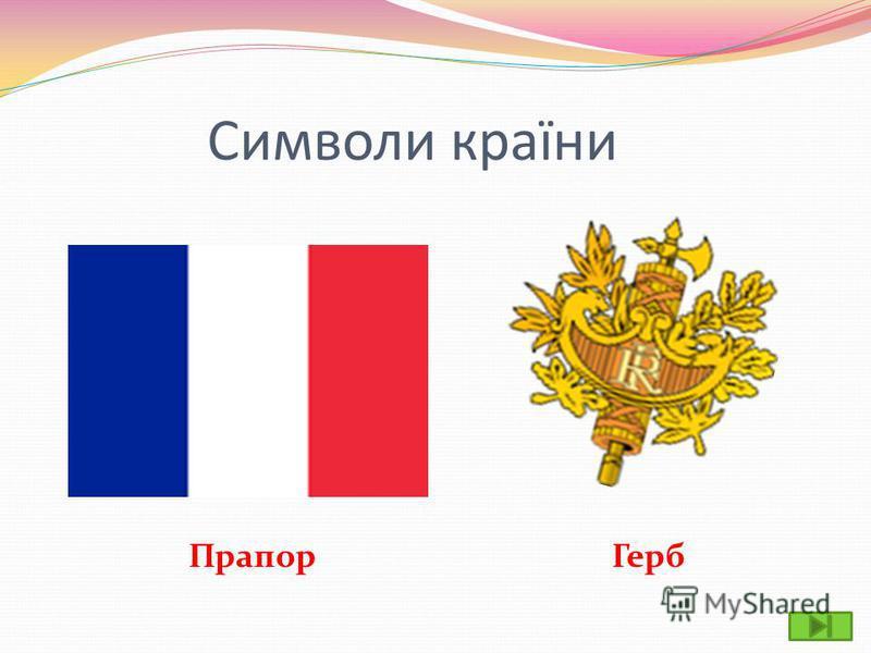Символи країни Прапор Герб