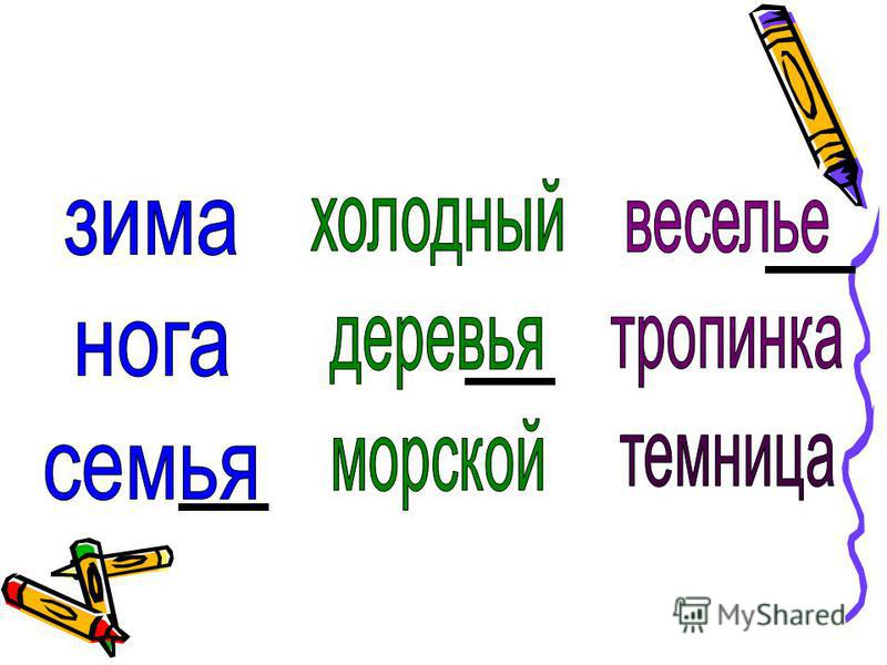 правописание с разделительным и мягким знаком или