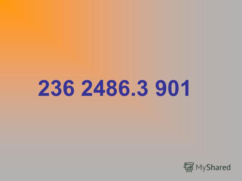 236 2486.3 901