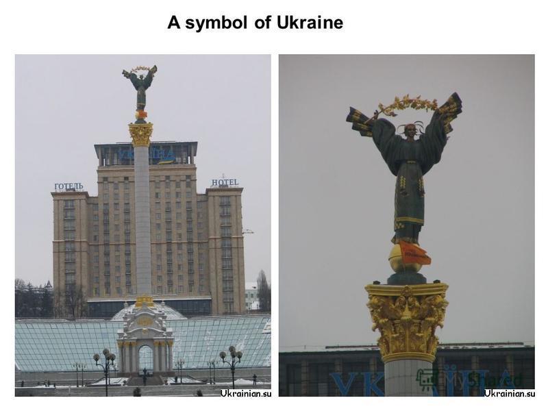 A symbol of Ukraine