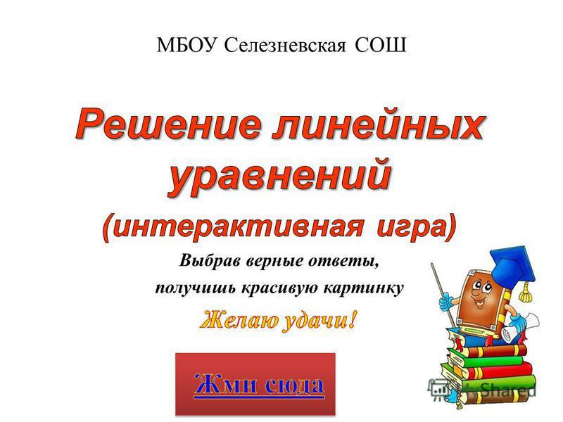 МБОУ Селезневская СОШ