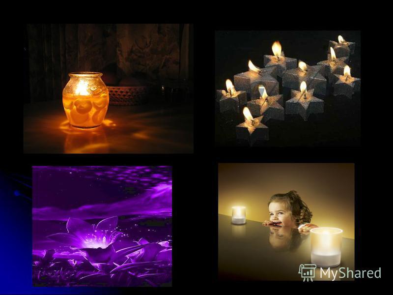 Поскольку электрические источники освещения вытесняют все прочие, то на первый план выходят другие способы применения свечей. Гелевые, электронные, плавающие свечи широко используются в декоративных целях, как украшения. Так же часто их используют дл