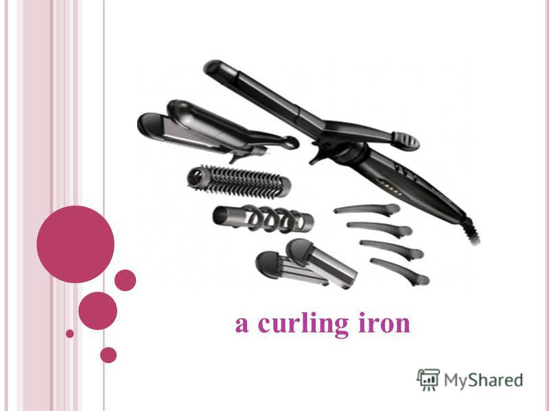 a curling iron