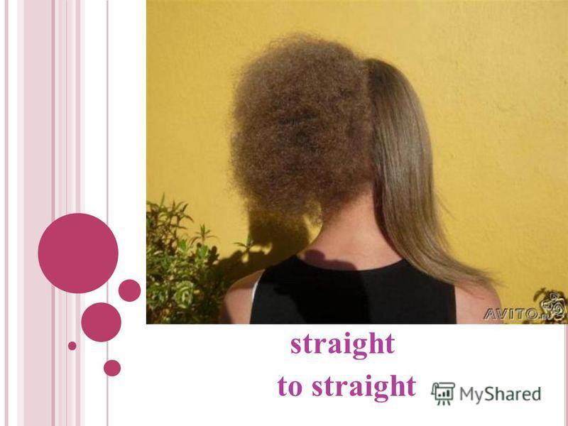 straight to straight
