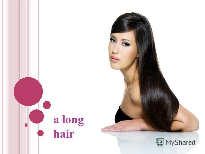 a long hair