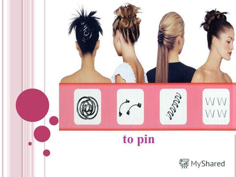to pin