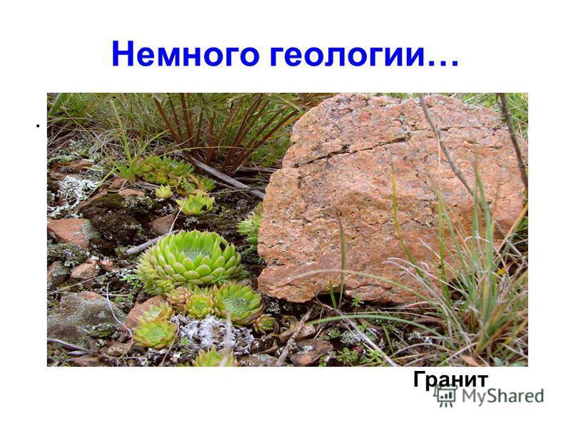 Немного геологии…. Гранит