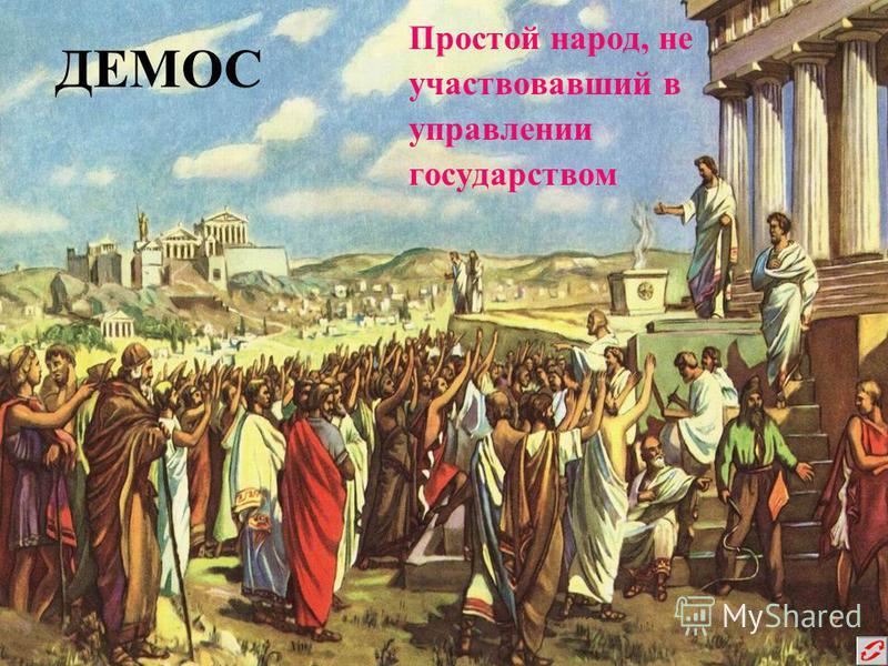 ПОЛИС Город-государство в Древней Греции