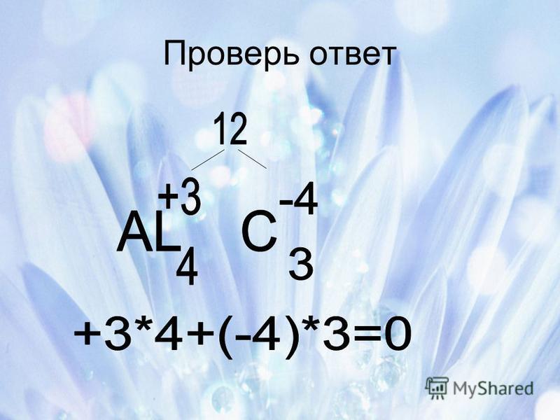 Проверь ответ