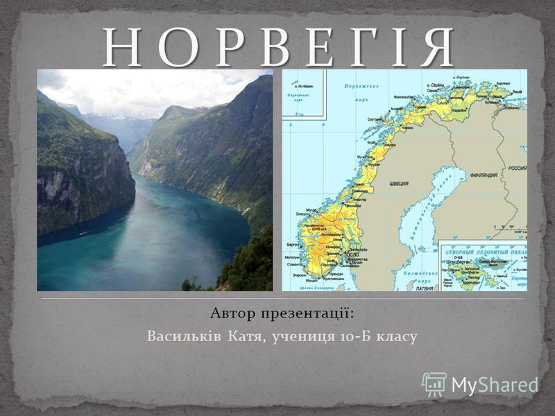 Автор презентації: Васильків Катя, учениця 10-Б класу