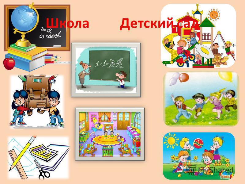 Школа Детский сад