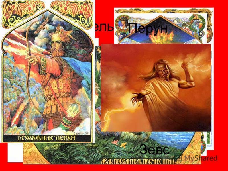 Дажьдбог Бог, дарующий свет и тепло, двигающей небесные тела. Догода Коляда Крышень Световид Лель Перун Зевс