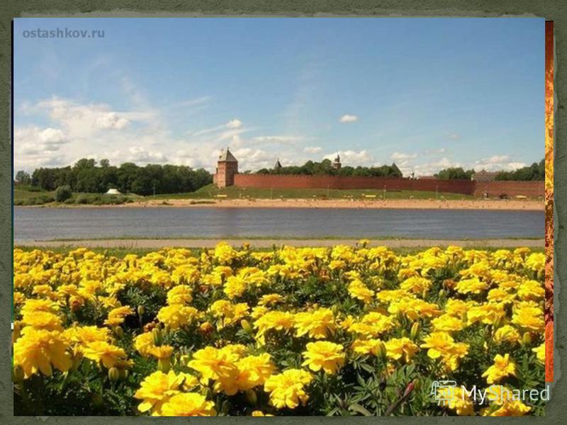 Добро пожаловать в наш великий город Новгород!