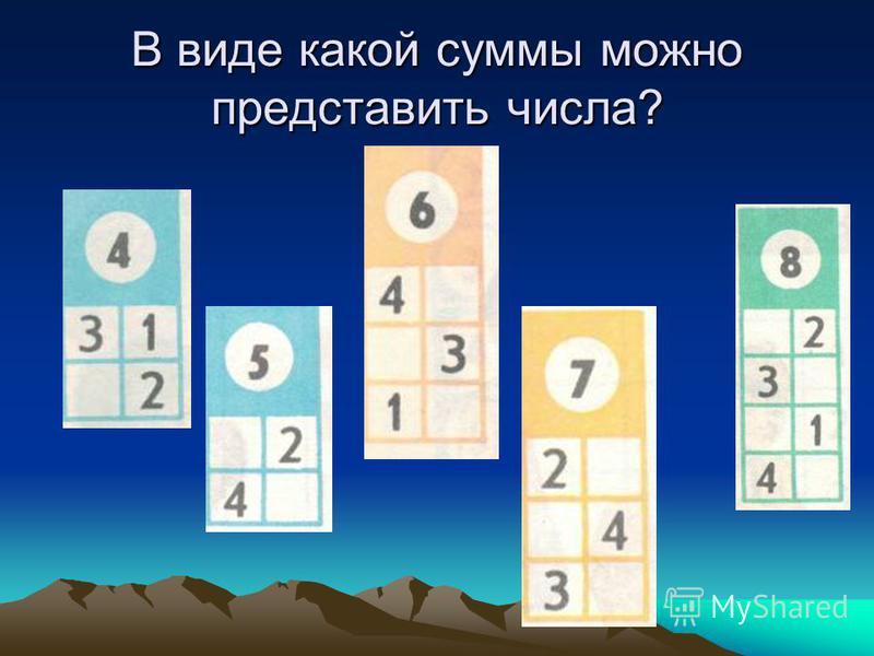 Найдите закономерность, продолжите ряды чисел. 1, 3, 5,…,…. 2, 4, 6,…,….