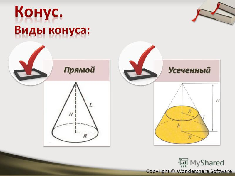 Copyright © Wondershare Software ПрямойУсеченный