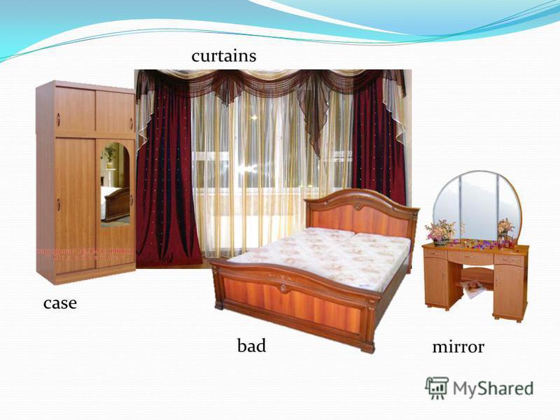 case curtains bad mirror