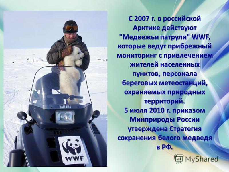 С 2007 г. в российской Арктике действуют