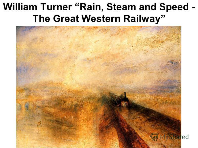 William Turner Rain, Steam and Speed - The Great Western Railway