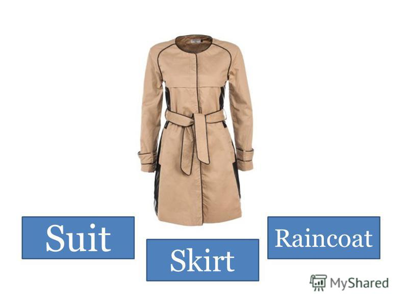 Suit Skirt Raincoat