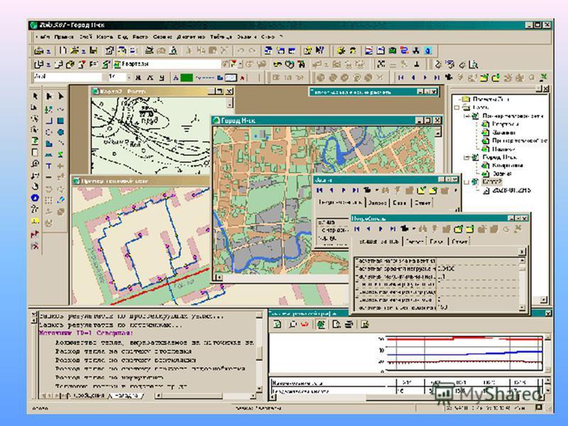 Геоинформационная система (географическая информационная система, ГИС) система сбора, хранения, анализа и графической визуализации пространственных (географических) данных и связанной с ними информации о необходимых объектах. Они строятся на основе к