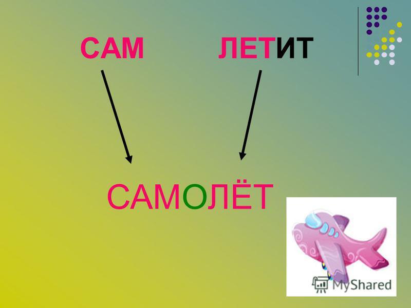 САМ ЛЕТИТ САМОЛЁТ