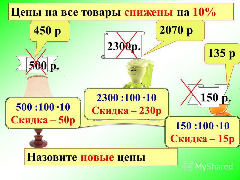 Математический диктант Проверьте себя: 1 вариант 2 вариант Найдите: 240 : 100 · 6 = 14,4 а) 1 % от 47,2 б) 6 % от 240 в) 120 % от 40 47,2 : 100 =0,472 40 : 100 · 120 = 48 240 : 100 · 8 = 19,2 а) 1 % от 23,8 б) 8 % от 240 в) 130 % от 20 23,8 : 100 = 0