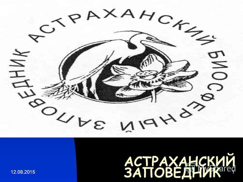 12.08.20151 АСТРАХАНСКИЙ ЗАПОВЕДНИК