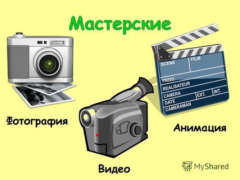Фотография Видео Анимация