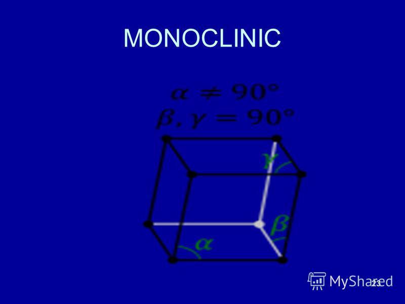 23 MONOCLINIC