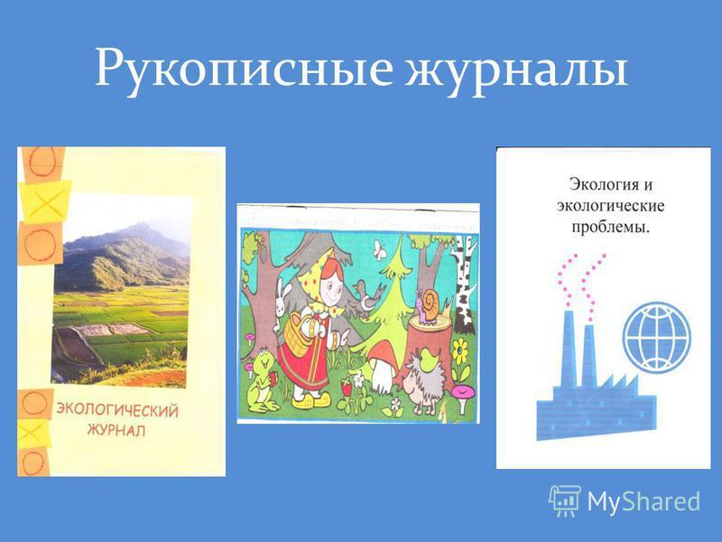 Рукописные журналы