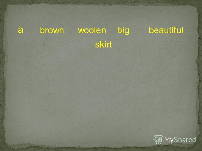a brownwoolenbigbeautiful skirt