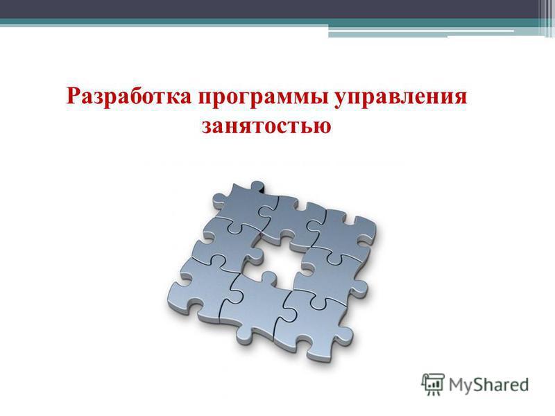 Разработка программы управления занятостью