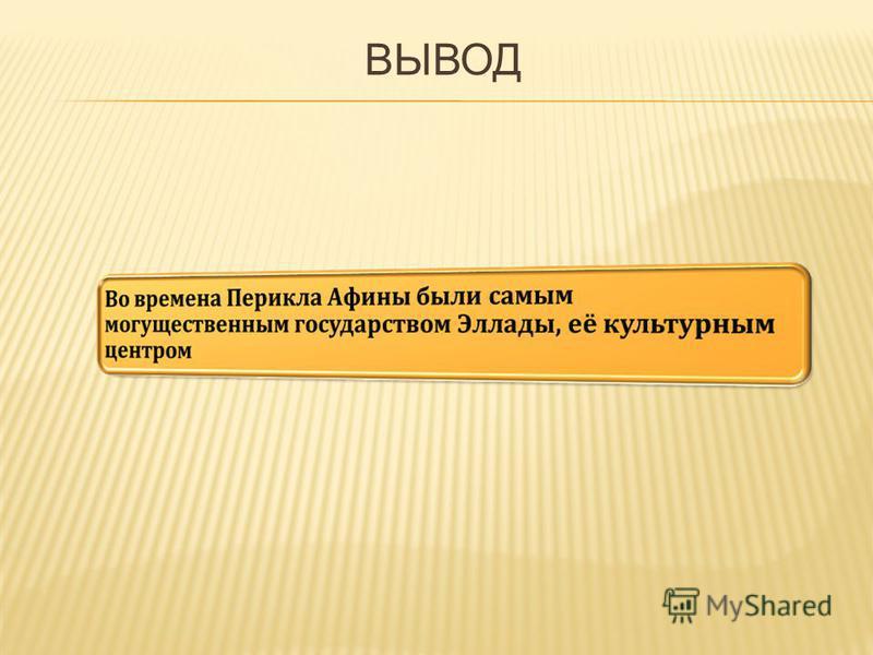 ВЫВОД