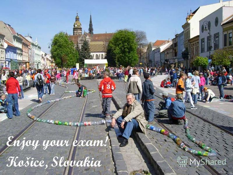 © Бублик В.В. ООП. Оглядова лекція для бакалаврів - 200840 Enjoy your exam! Košice, Slovakia