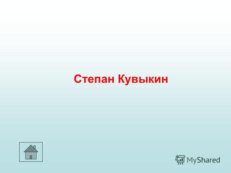 Степан Кувыкин