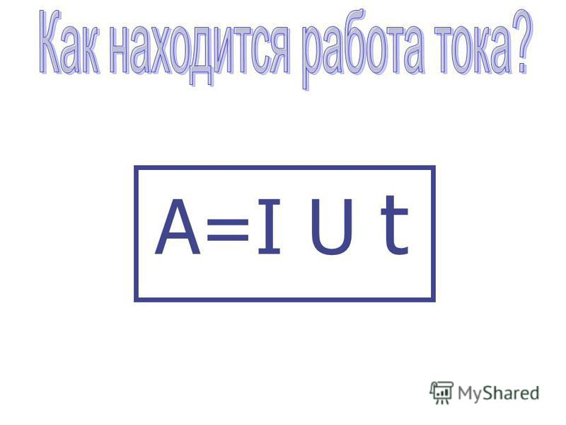 A=I U t