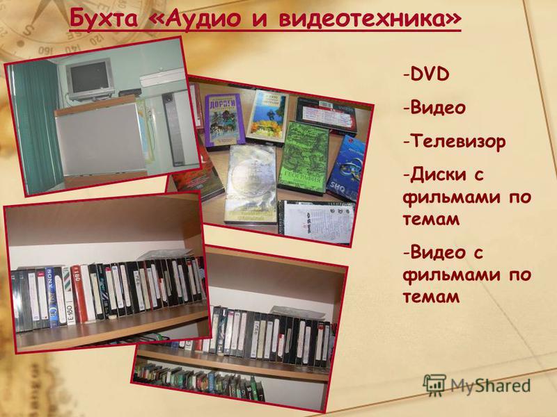 Бухта «Аудио и видеотехника» -DVD -Видео -Телевизор -Диски с фильмами по темам -Видео с фильмами по темам