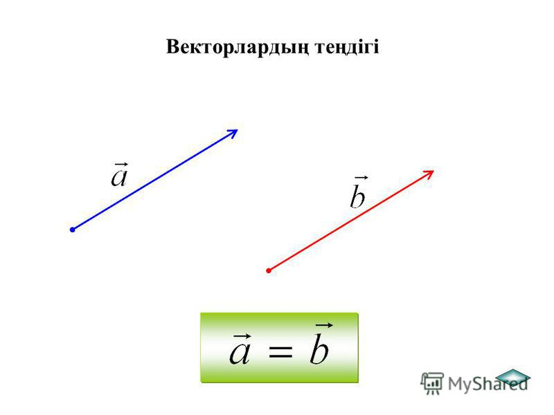 Егер вектордың бас нүктесі оның ұшымен дәл келіп беттесіп жатса, онда ол векторды нөлдік вектор деп атайды және деп белгілейді. Нөлдік вектордың абсолют шамасы нөлге тең.