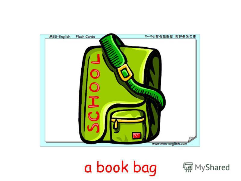 a book bag