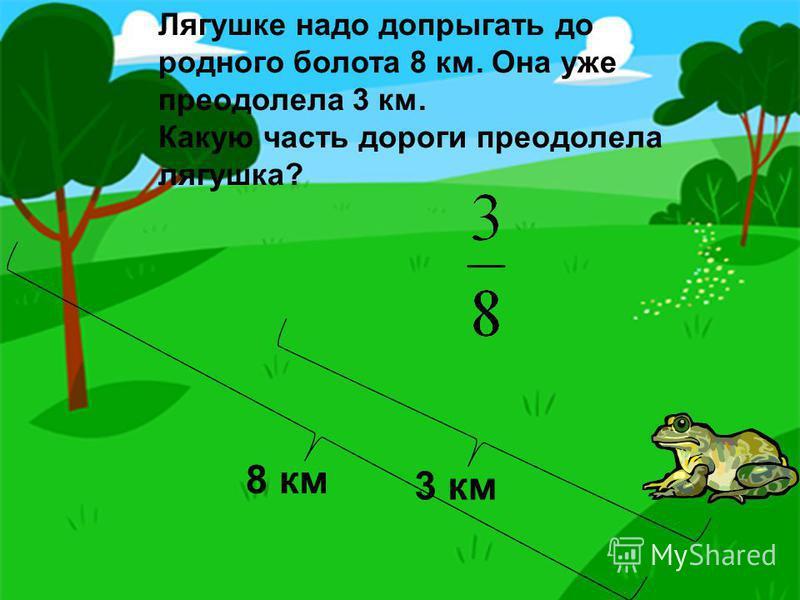 Обезьяны должны сделать 5 кругов по арене на велосипеде. Они уже проехали 2 круга. Какую часть пути проехали обезьяны?