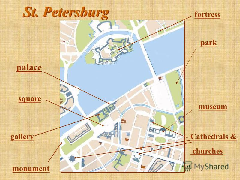 St. Petersburg fortress palace museum square park Cathedrals & churches gallery monument