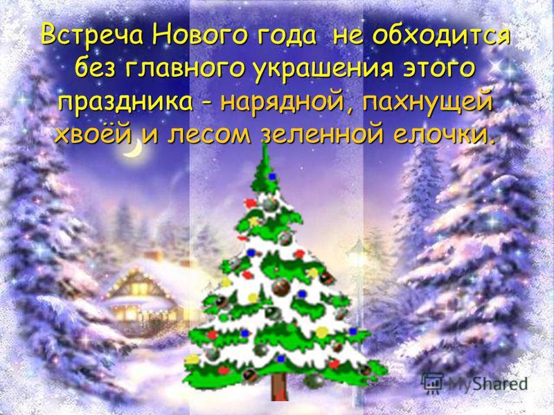 Встреча Нового года не обходится без главного украшения этого праздника - нарядной, пахнущей хвоёй и лесом зеленной елочки.