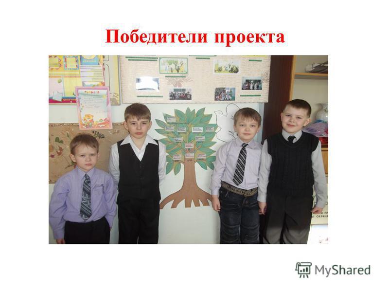 Победители проекта