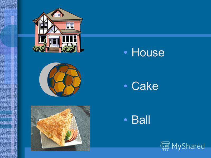 House Cake Ball