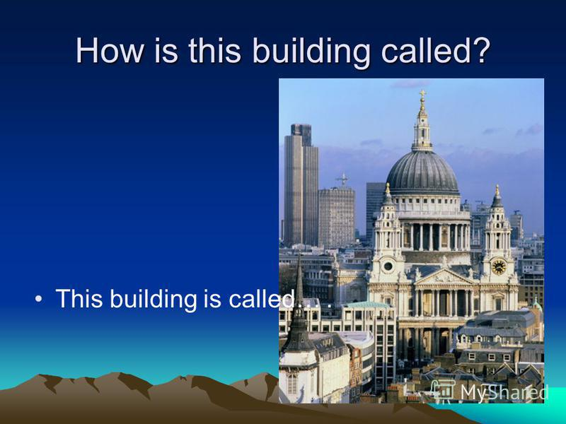 How is this building called? This building is called….